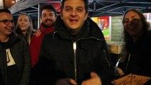 David Antoine à Huy pour vendre les étoiles