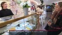 Grève des transports : les Franciliens boudent les magasins