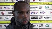 Après le match  Amiens SC - Dijon FCO - Moussa Konaté