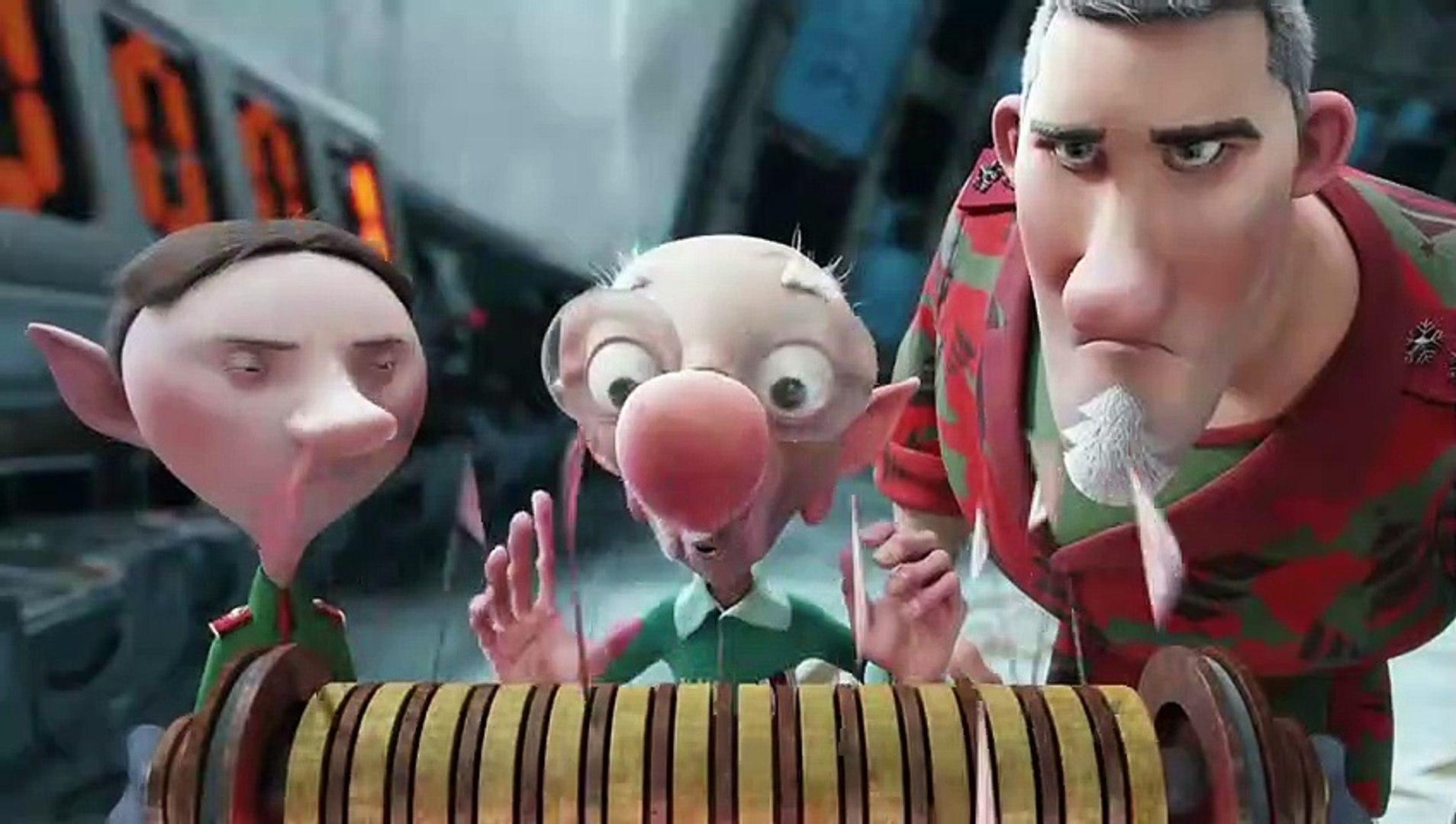Arthur Christmas Movie Clip Santa Vs Lions Video Dailymotion