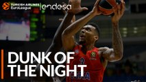 Endesa Dunk of the Night: Joel Bolomboy, CSKA Moscow