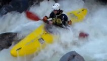 Extreme Kayakers Take On Dangerous Whitewater Rapids