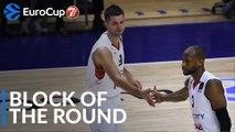 7DAYS EuroCup Block of the Round: Mantas Kalnietis, Lokomotiv Kuban Krasnodar