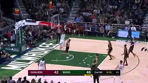 Cleveland Cavaliers 108 - 125 Milwaukee Bucks