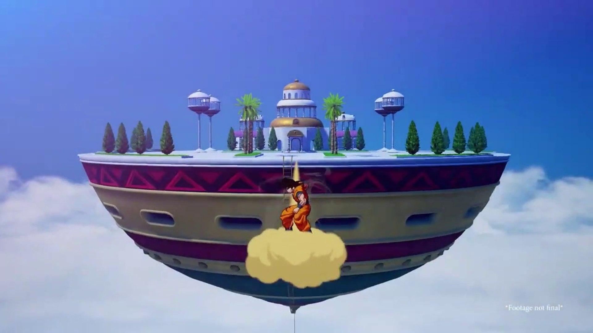 Dragon Ball Z Kakarot - Tráiler de la Tierra Sagrada y la Atalaya ...