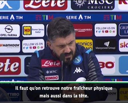 "16e j. - Gattuso : ""L'équipe souffre mentalement"""