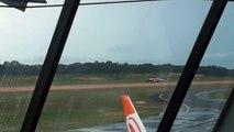 [SBEG Spotting]Embraer 195 PR-AUQ pousa em Manaus vindo de Tabatinga