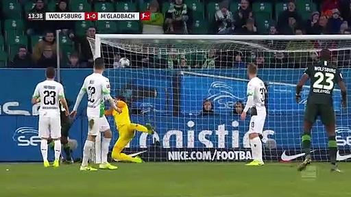Wolfsburg - Borussia Mönchengladbach (2-1) - Maç Özeti - Bundesliga 2019/20