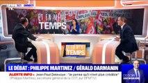 Réforme des retraites: débat entre Philippe Martinez et Gérald Darmanin (1/3) - 15/12