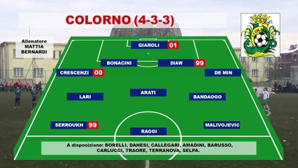 Colorno - RFormigine 1-1, highlights e interviste