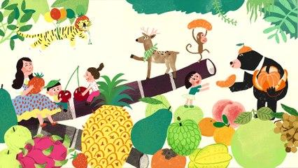 """謝欣芷 - 愛水果《一起唱首朋友歌》/ Kim Hsieh - Lovely fruits (in Hakka) """"Singing Together for Friendship!"""""""
