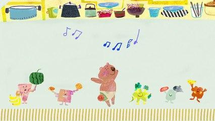 """謝欣芷 - 吃飯了《寶貝的生活歌》/ Kim Hsieh - Let's Eat! """"Everyday Life Songs for Kids"""
