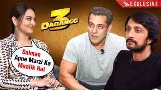 Sonakshi Sinha RESPECTS Salman Khan's Attitude, Saiee And Kichcha Sudeep | Dabangg 3 | EXCLUSIVE