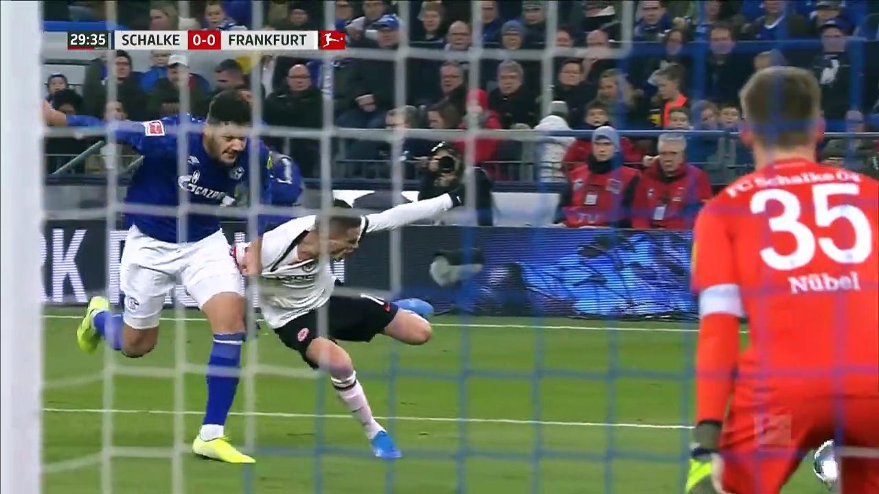 Schalke 04 - Eintracht Frankfurt (1-0) - Maç Özeti - Bundesliga 2019/20