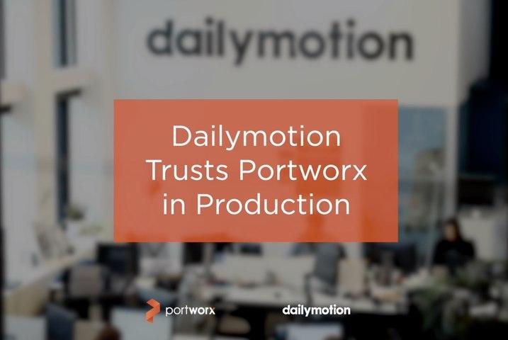 Customer Story: Dailymotion & Portworx