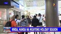 MMDA, handa na ngayong holiday season; maayos na traffic plan, inapela sa mall owners