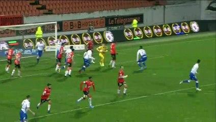 Le résumé de FC Lorient - Auxerre (1-0) 19-20