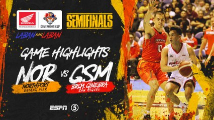Highlights: G1: NorthPort vs Ginebra  | PBA Governors' Cup 2019 Semifinals