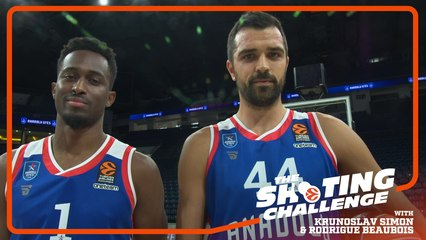 Shooting Challenge: Rodrigue Beaubois & Krunoslav Simon, Efes