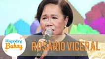 Momshie Rosario becomes emotional as she gives her message to Vice Ganda | Magandang Buhay