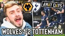 Away Days | Wolves 1-2 Tottenham: Last-gasp Vertonghen goal sends fans crazy