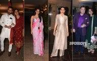 Kareena Kapoor-Saif Ali Khan, Rishi-Neetu Kapoor, Karisma Kapoor at Armaan Jain's Roka Ceremony