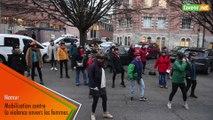 Mobilisation féministe à Namur