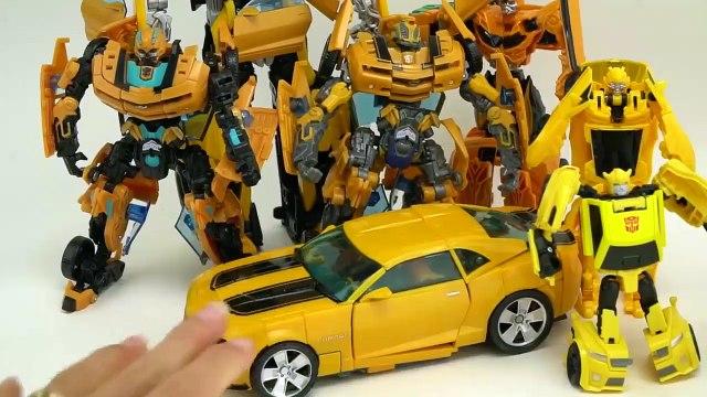 Transformers Bumblebee Yellow Car Color Autobots Battle Ops Transform