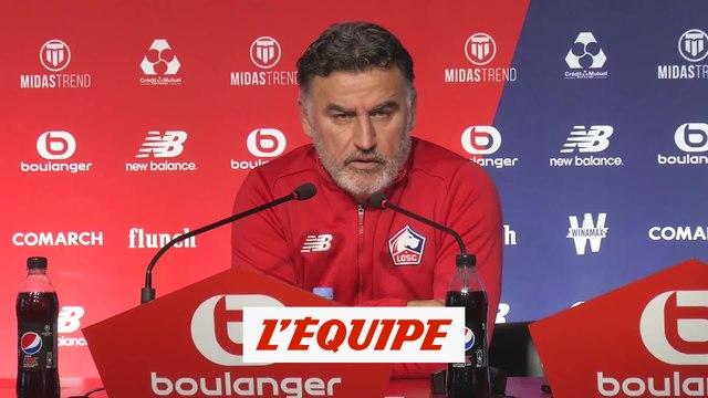 Galtier «C'est Léo Jardim qui jouera» - Foot - Coupe de la Ligue - LOSC