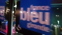 France Bleu Gironde en direct d'une rame du Tram D de Bordeaux