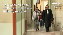 """Procès époux Balkany: """"il est sous anesthésie générale et moi je suis là!"""" (Isabelle Balkany)"""