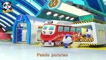 El Taller Mecánico de Trenes | Canciones Infantiles | BabyBus Español