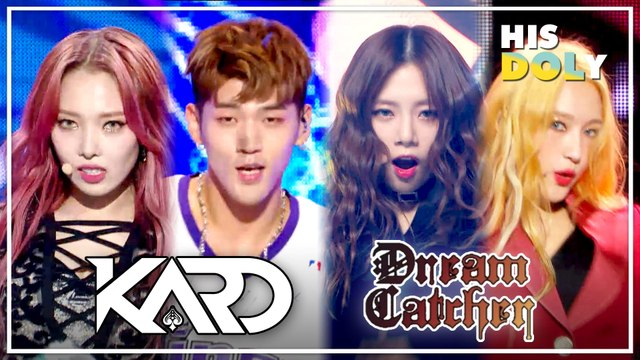 KARD & Dream Catcher Special ★Since Debut to 2019★ (39m Stage Compilation)