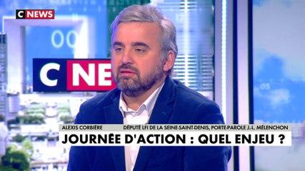Alexis Corbière - CNews mardi 17 décembre 2019