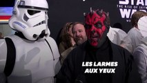 "Les fans de Star Wars émus avant ""The Rise of Skywalker"""