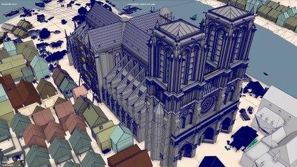 """""""Notre-Dame de Paris, l'épreuve des siècles"""" - Making of"""