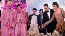 Sania Mirza Sister's Anam Mirza Wedding Reception Unseen Video : Watch Video   Boldsky