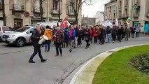 Réforme des retraites : manifestation au centre de Toul