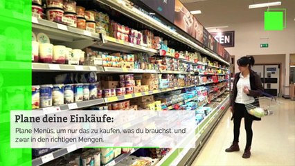 Wie vermeidet man Lebensmittelverschwendung während der Feiertage?