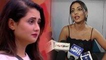 Bigg Boss 13: Hina Khan refuses to give any advice to Rashami Desai for Arhaan Khan | FilmiBeat