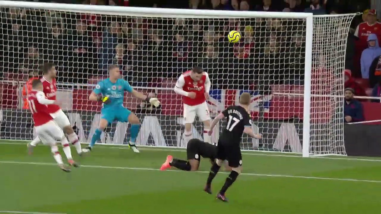 Arsenal - Manchester City (0-3) - Maç Özeti - Premier League 2019/20