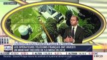 Arthur Dreyfuss (Fédération française des télécoms) : Les opérateurs télécoms français ont investi un montant record de 9,8 milliards d'euros en 2018 - 17/12