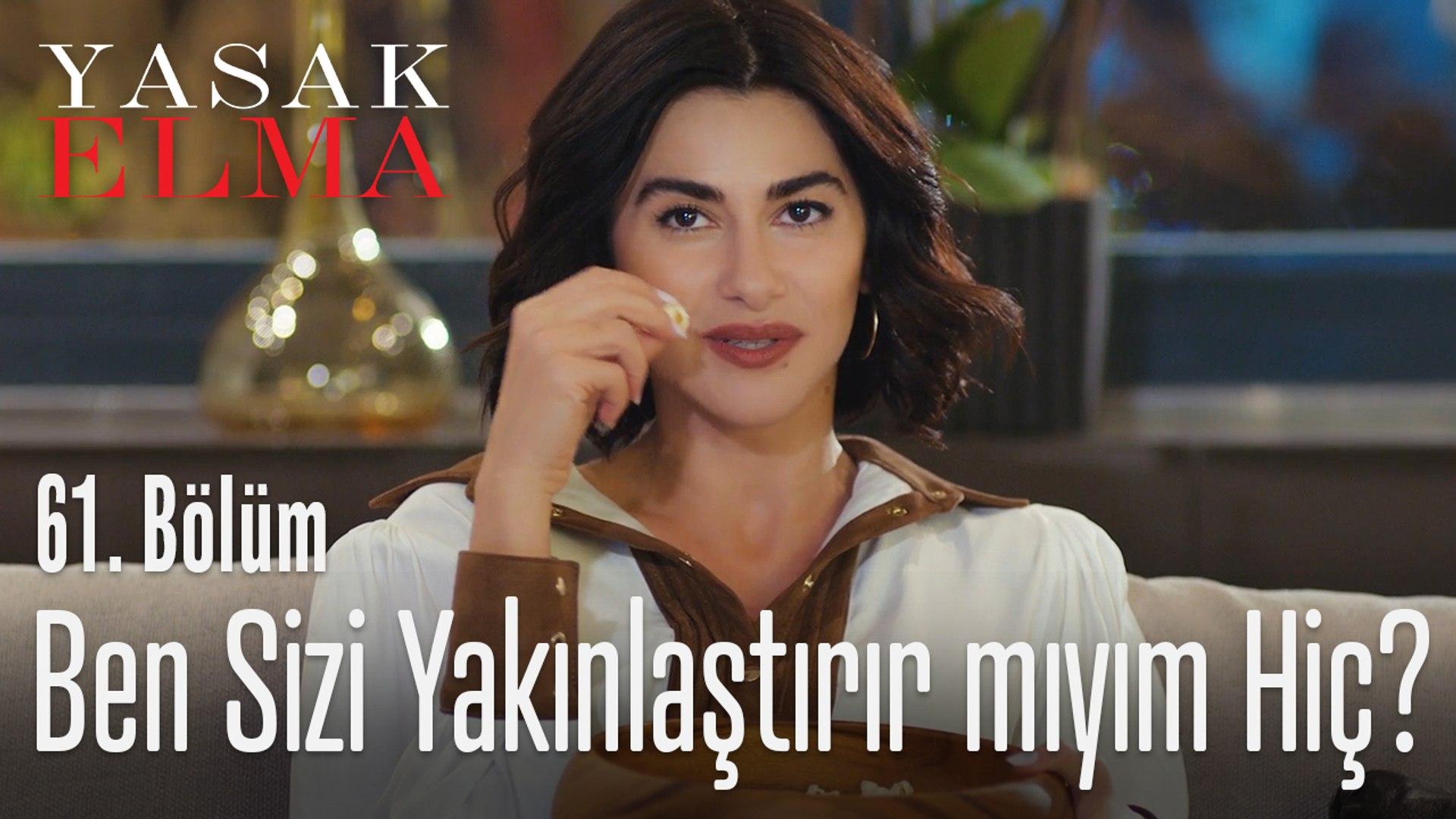 Şahika film keyfini böldü - Yasak Elma 61. Bölüm