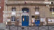 Grève: à Paris, les écoles de nouveau très perturbées
