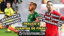 MIGUEL TRAUCO A CUARTOS DE FINAL CON PSG | BENAVENTE ELIMINADO | PAOLO GUERRERO Y BOCA JUNIORS