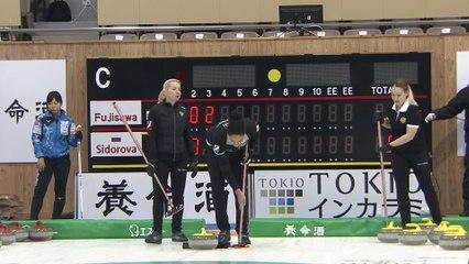 Karuizawa International Draw 1 Sidirova vs Fujisawa