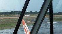 [SBEG Spotting]Boeing 737-400 PR-AJZ pousa em Manaus