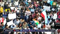 Osmania University echoes into CAA protest in Hyderabad