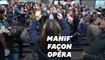 Contre la réforme des retraites, l'Opéra de Paris a donné de la voix