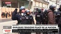 Manifestation à Paris du mardi 17 décembre contre les retraites